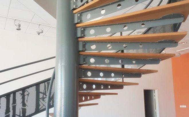 escalier réalisé par metalder